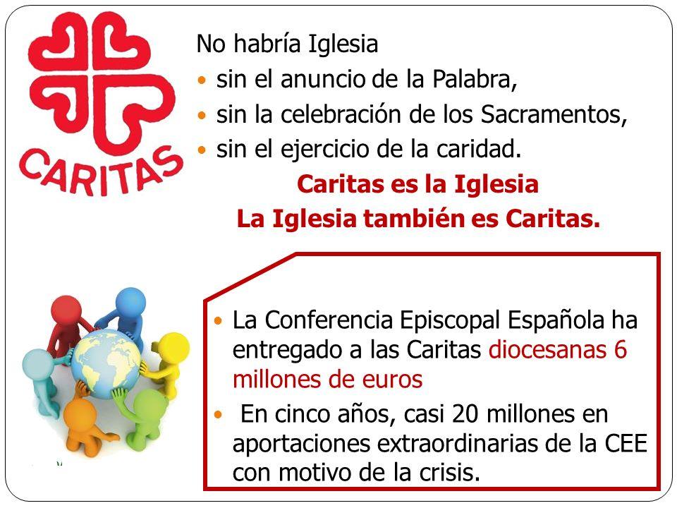 La Iglesia también es Caritas.