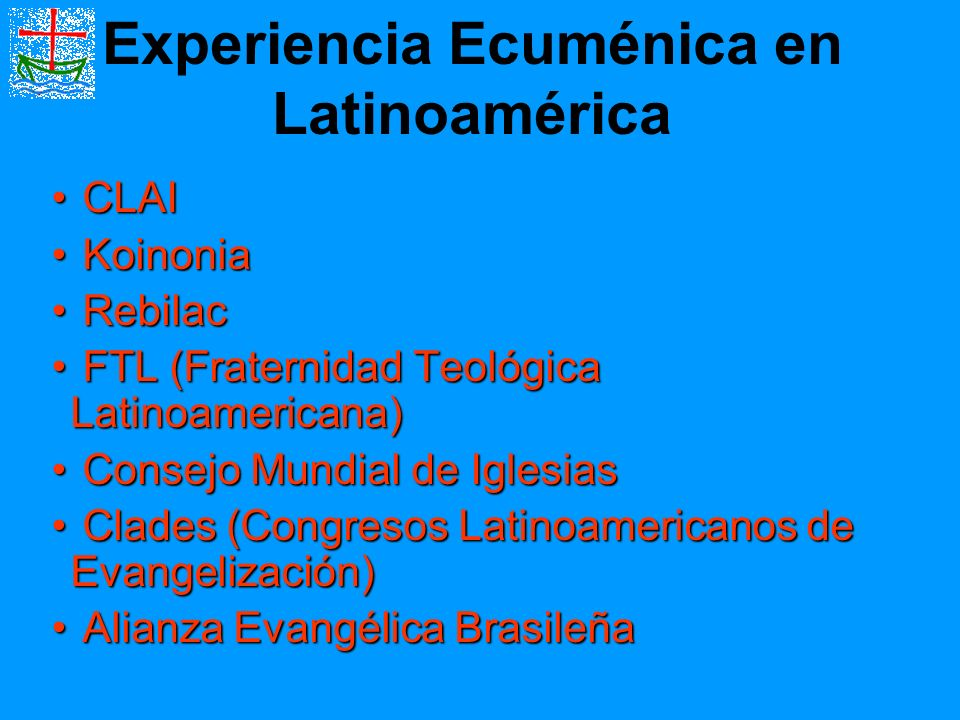 Experiencia Ecuménica en Latinoamérica