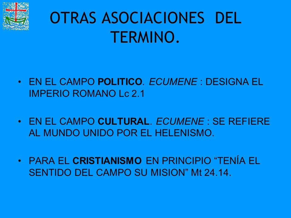 OTRAS ASOCIACIONES DEL TERMINO.