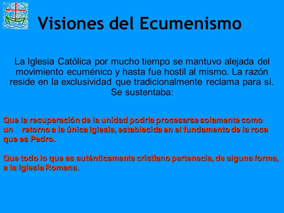 Visiones del Ecumenismo