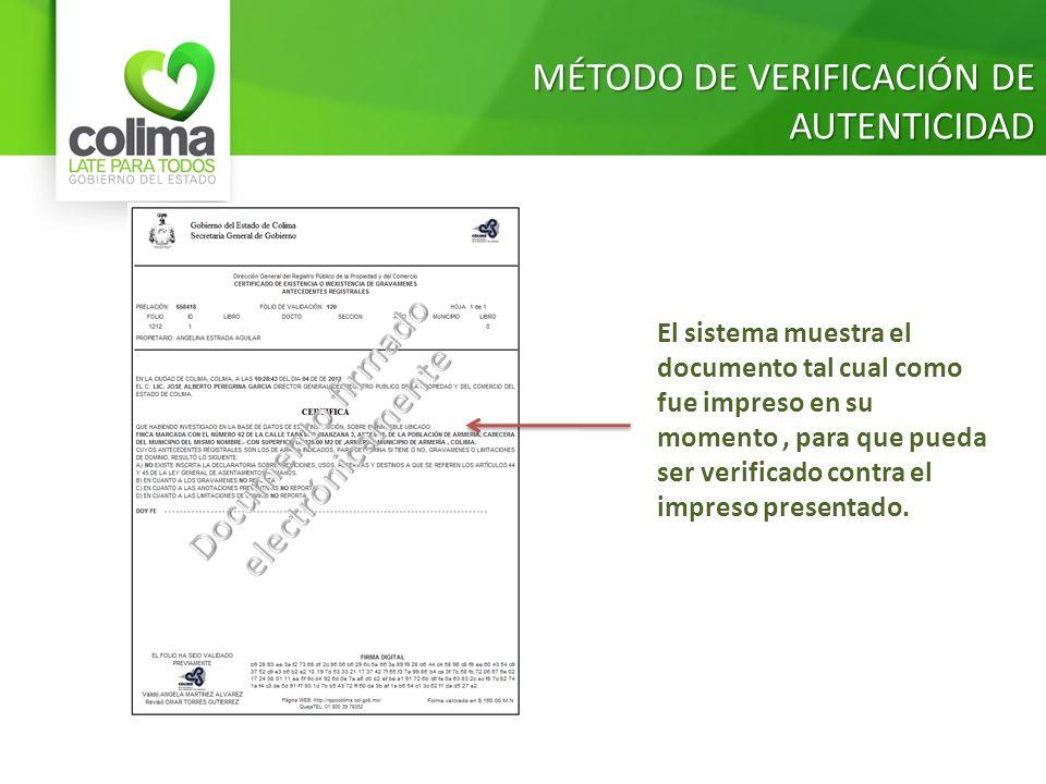 Documento firmado electrónicamente