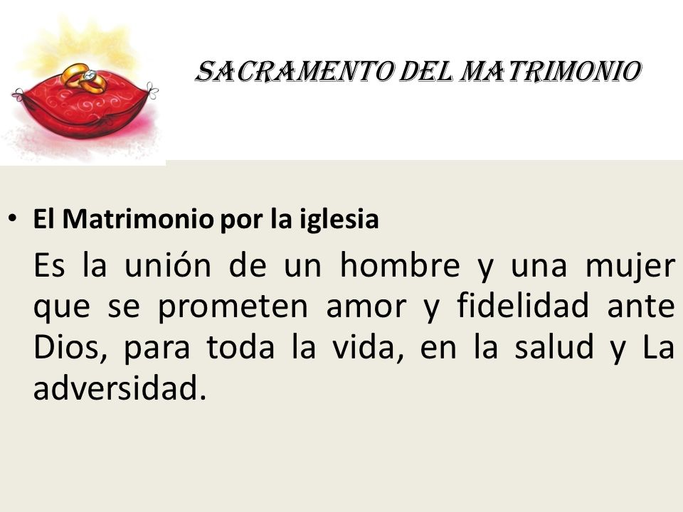 Juramento En El Matrimonio Catolico : Sacramento del matrimonio ppt video online descargar