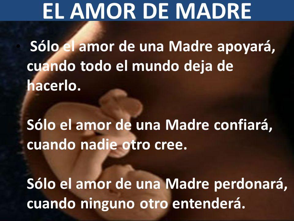 EL AMOR DE MADRE