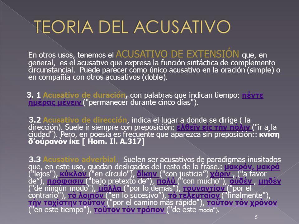 TEORIA DEL ACUSATIVO