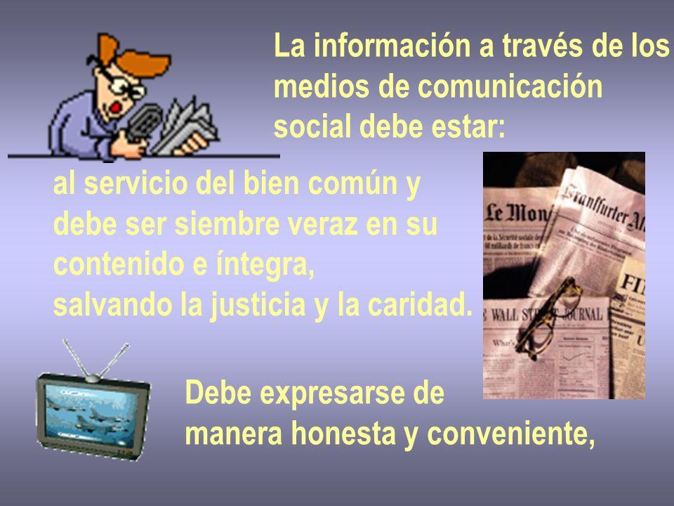 La información a través de los