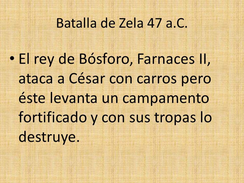 Batalla de Zela 47 a.C.