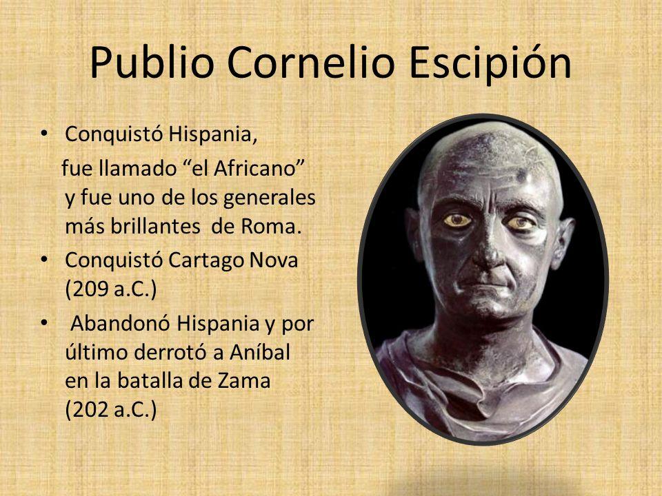 Publio Cornelio Escipión