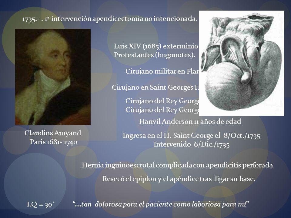 Ingresa en el H. Saint George el 8/Oct./1735