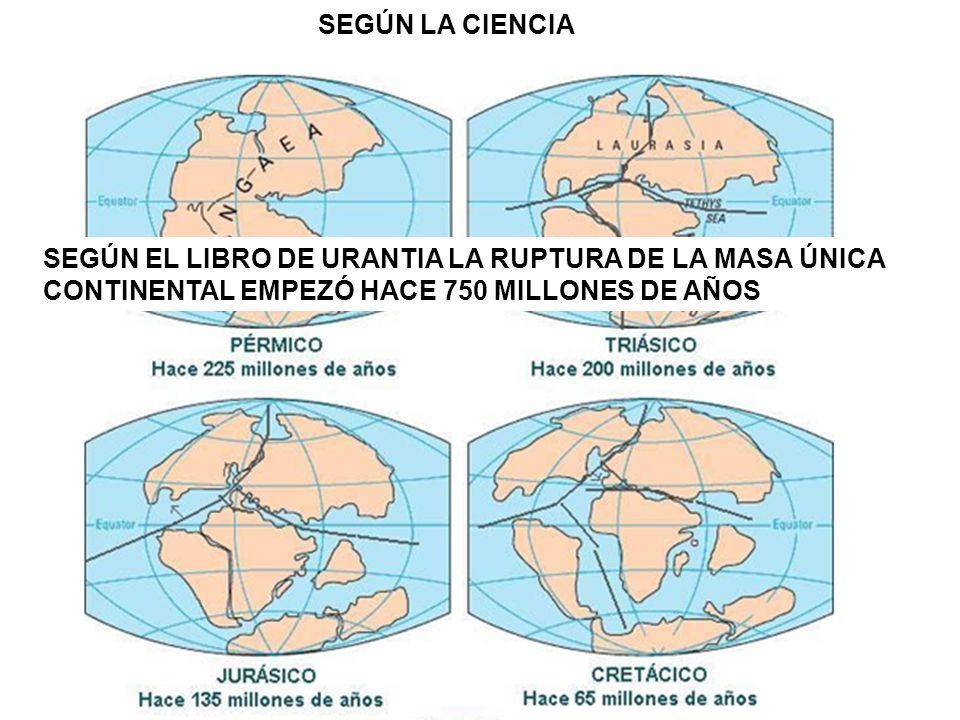 SEGÚN LA CIENCIA SEGÚN EL LIBRO DE URANTIA LA RUPTURA DE LA MASA ÚNICA.