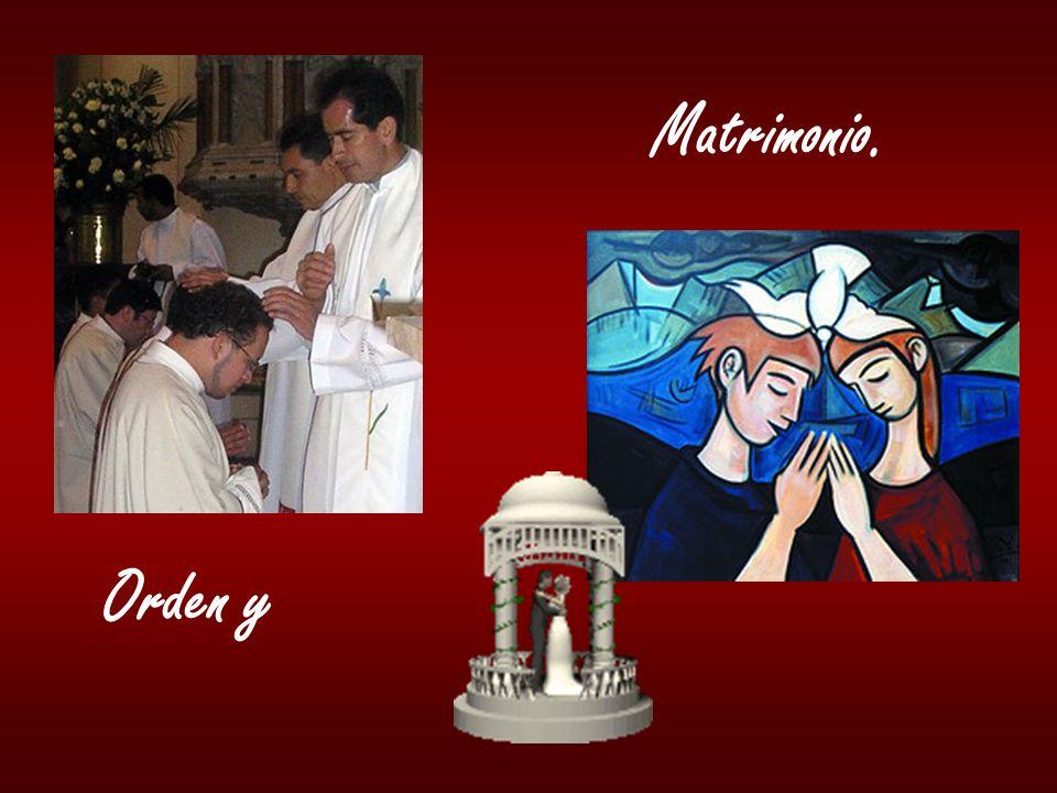 Matrimonio. Orden y