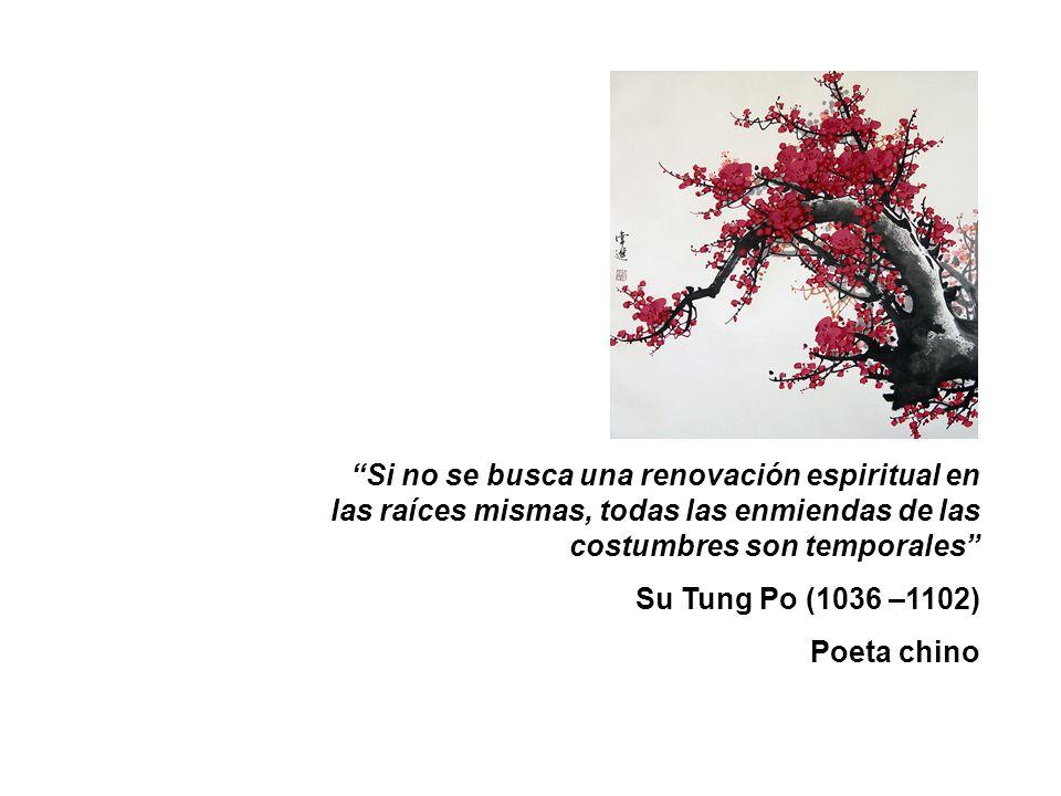 Si no se busca una renovación espiritual en las raíces mismas, todas las enmiendas de las costumbres son temporales