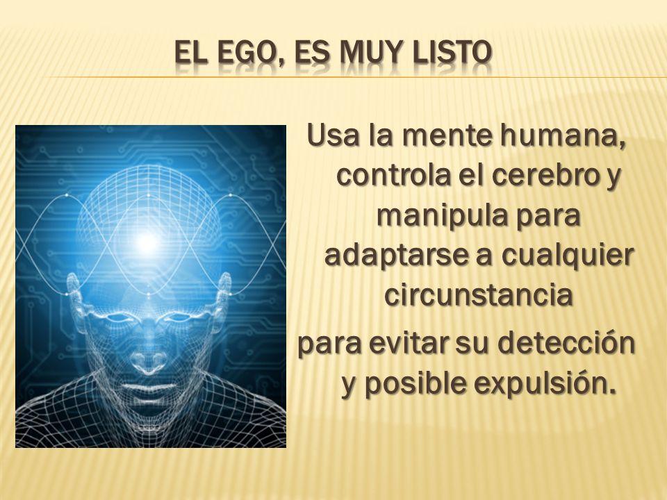 El ego, es muy listo