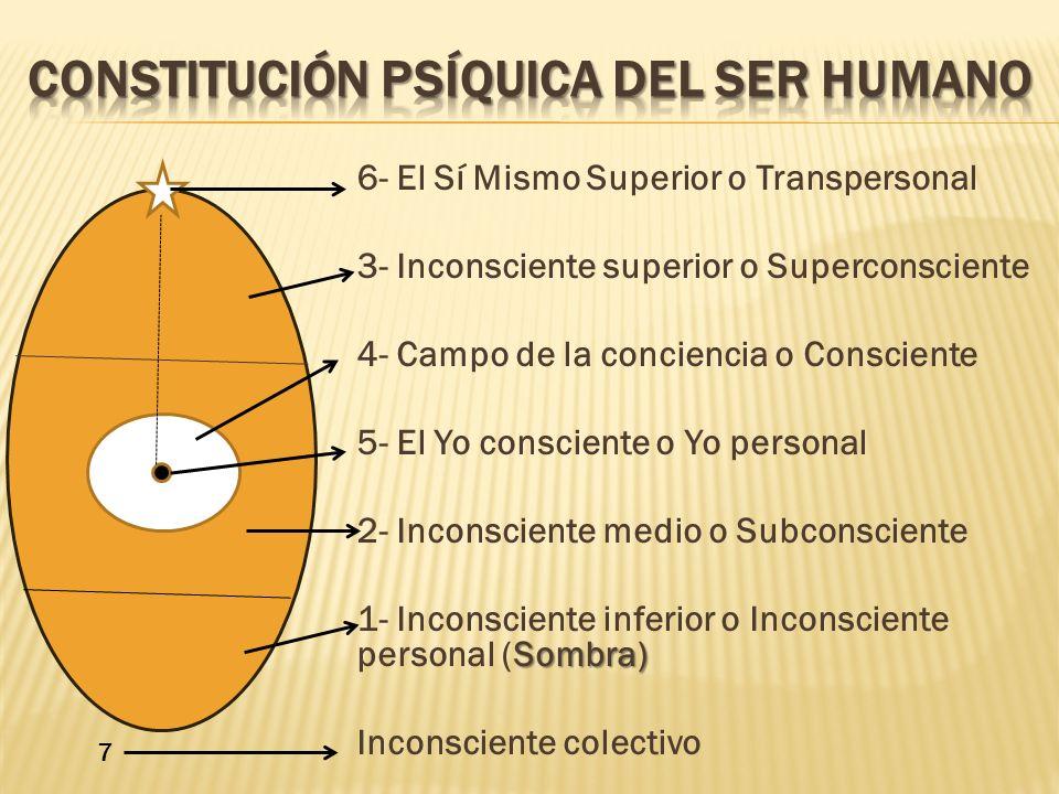 Constitución psíquica del ser humano
