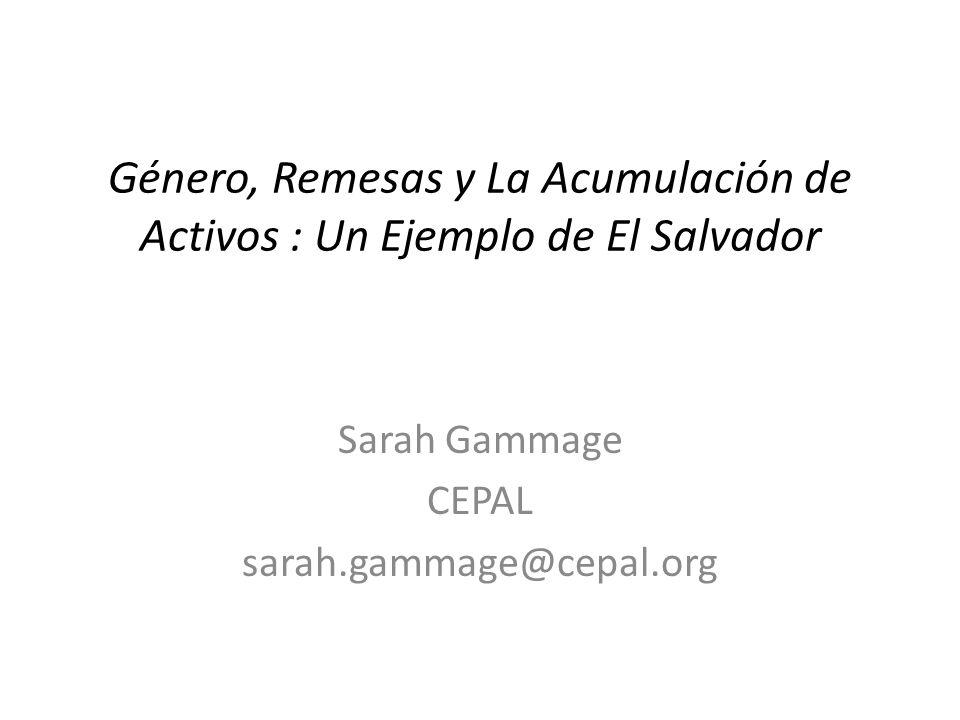 Sarah Gammage CEPAL sarah.gammage@cepal.org