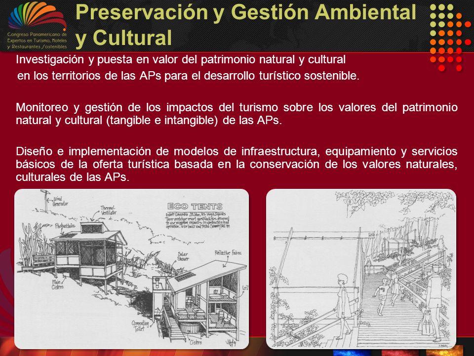 Preservación y Gestión Ambiental y Cultural