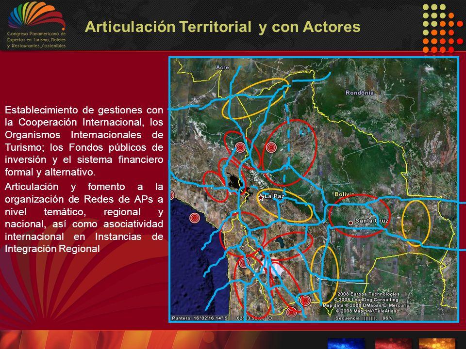 Articulación Territorial y con Actores