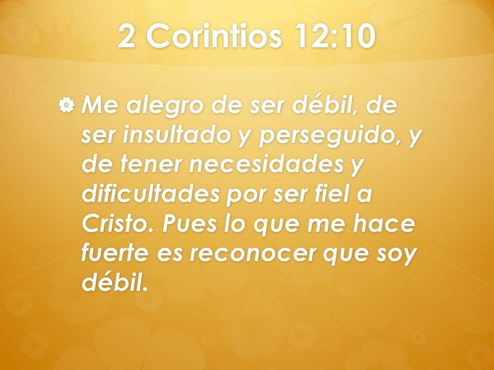 2 Corintios 12:10