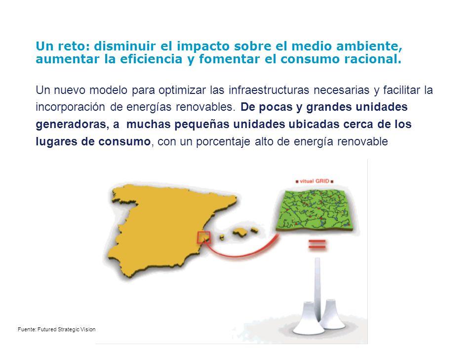 Un reto: disminuir el impacto sobre el medio ambiente, aumentar la eficiencia y fomentar el consumo racional.