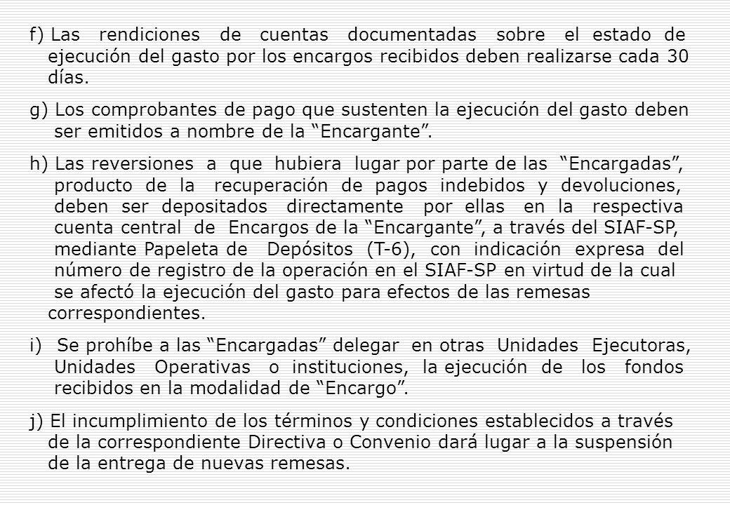 c) Las condiciones o requisitos de los actos administrativos propios