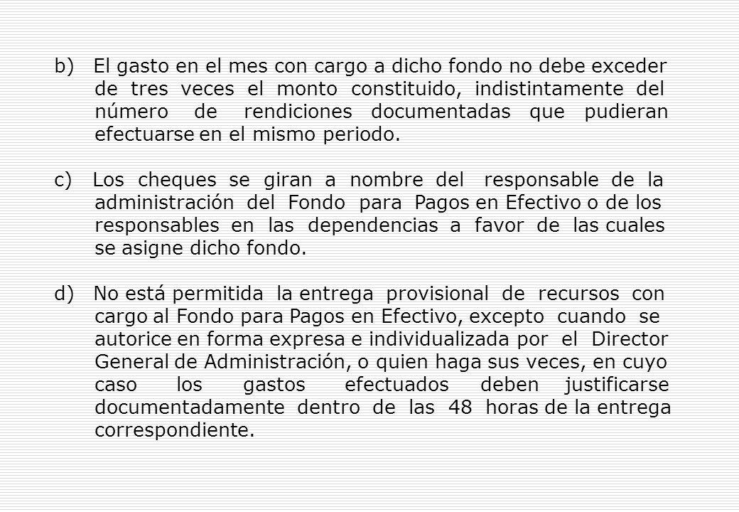 Artículo 36º.- Precisiones respecto al manejo del Fondo para Pagos en Efectivo