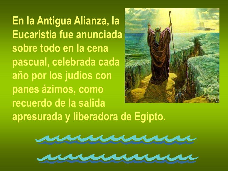 En la Antigua Alianza, la