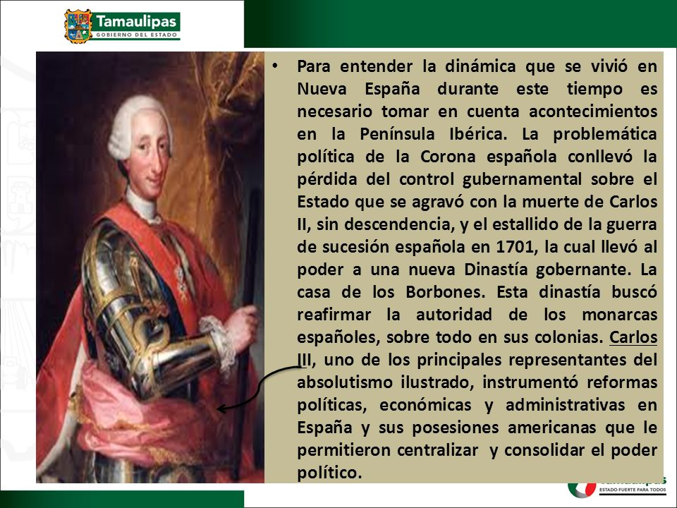 Para entender la dinámica que se vivió en Nueva España durante este tiempo es necesario tomar en cuenta acontecimientos en la Península Ibérica.