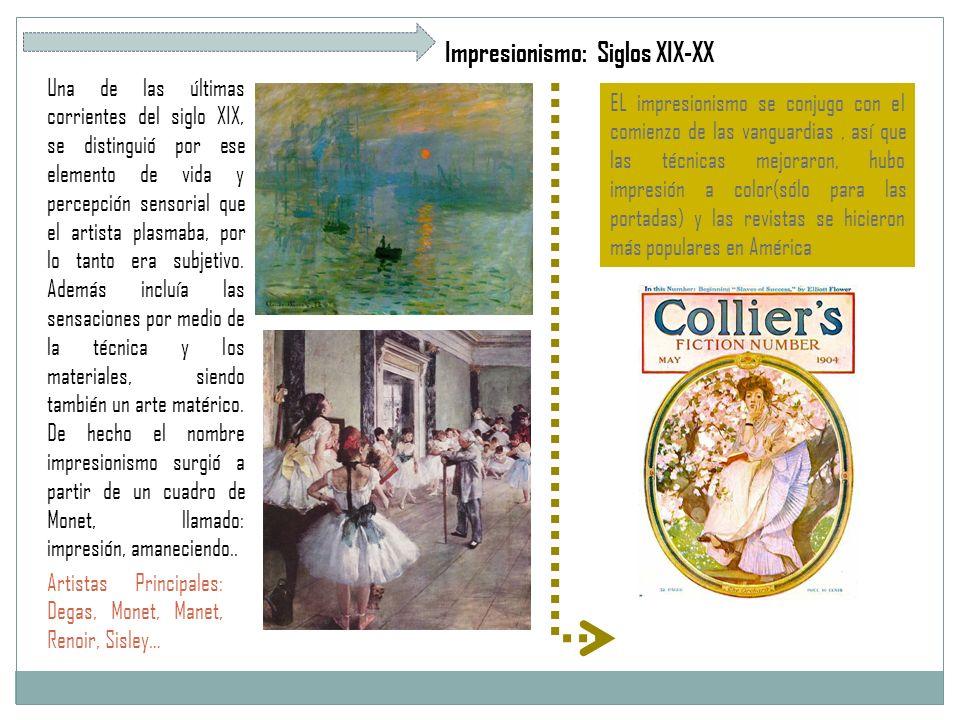 Impresionismo: Siglos XIX-XX