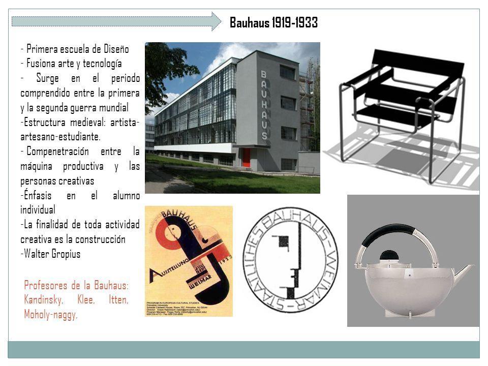 Bauhaus 1919-1933 - Primera escuela de Diseño