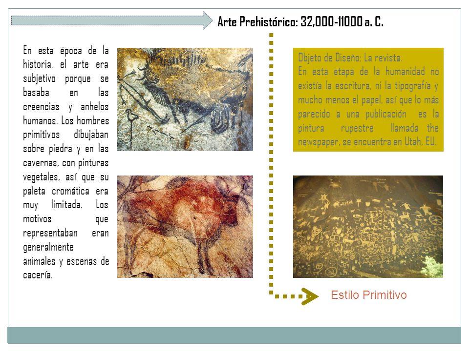 Arte Prehistórico: 32,000-11000 a. C.