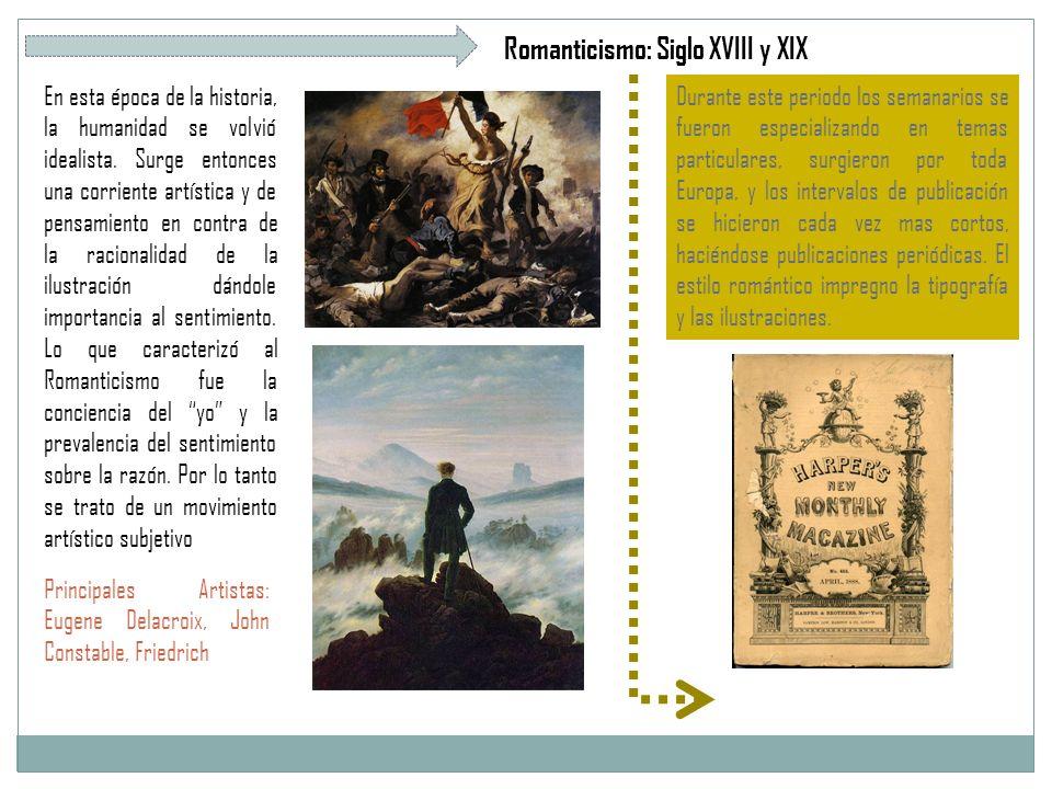 Romanticismo: Siglo XVIII y XIX
