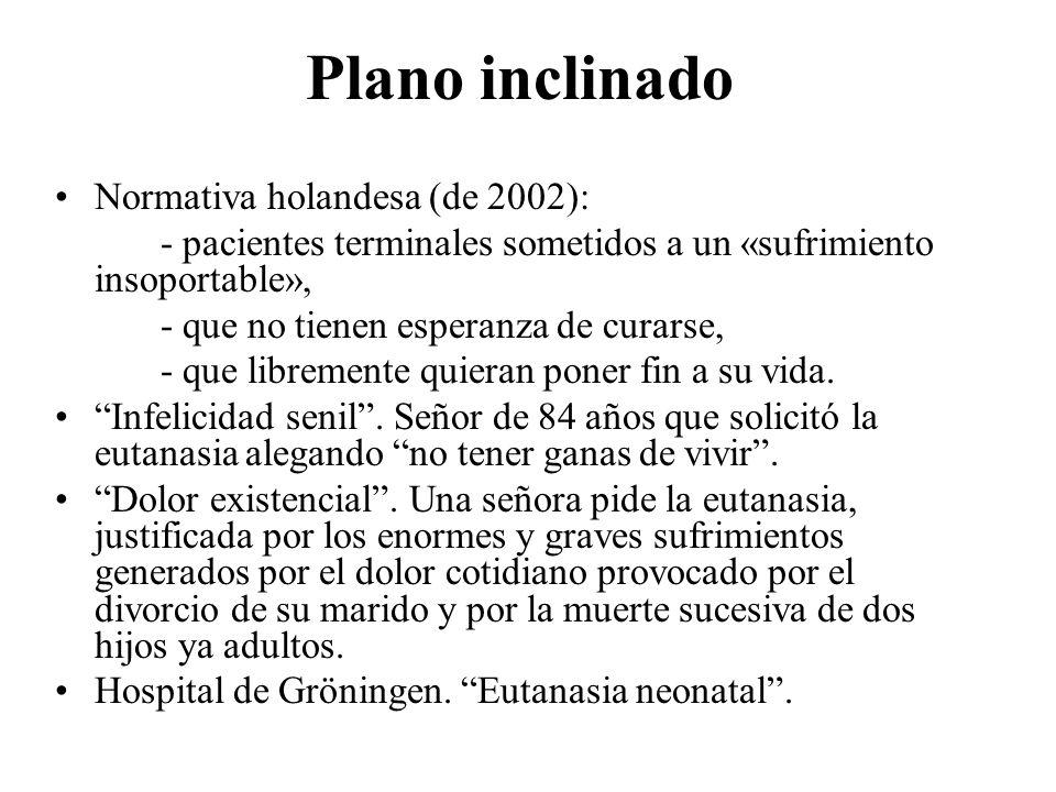 Plano inclinado Normativa holandesa (de 2002):