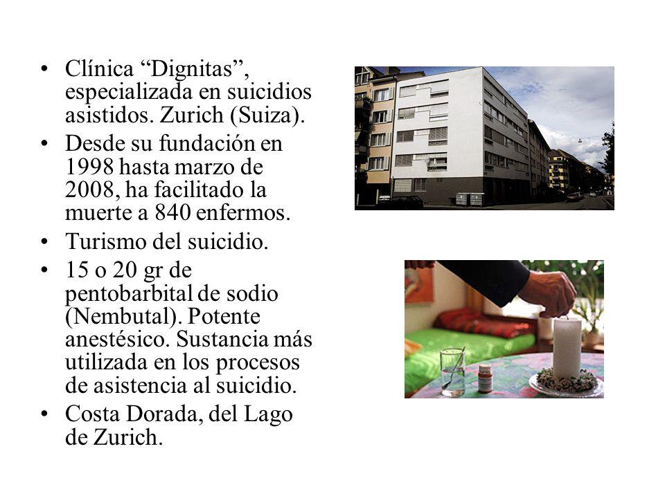 Clínica Dignitas , especializada en suicidios asistidos