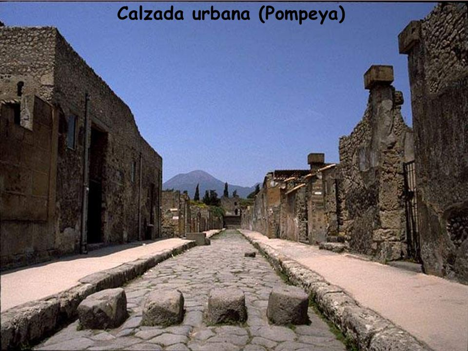 Calzada urbana (Pompeya)