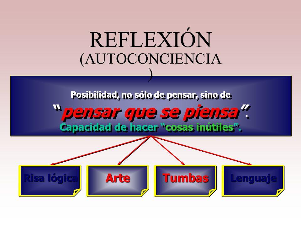 REFLEXIÓN (AUTOCONCIENCIA)