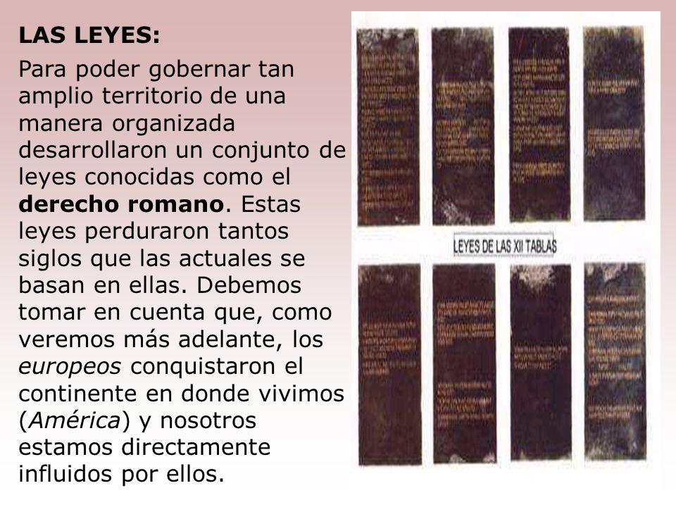 LAS LEYES: