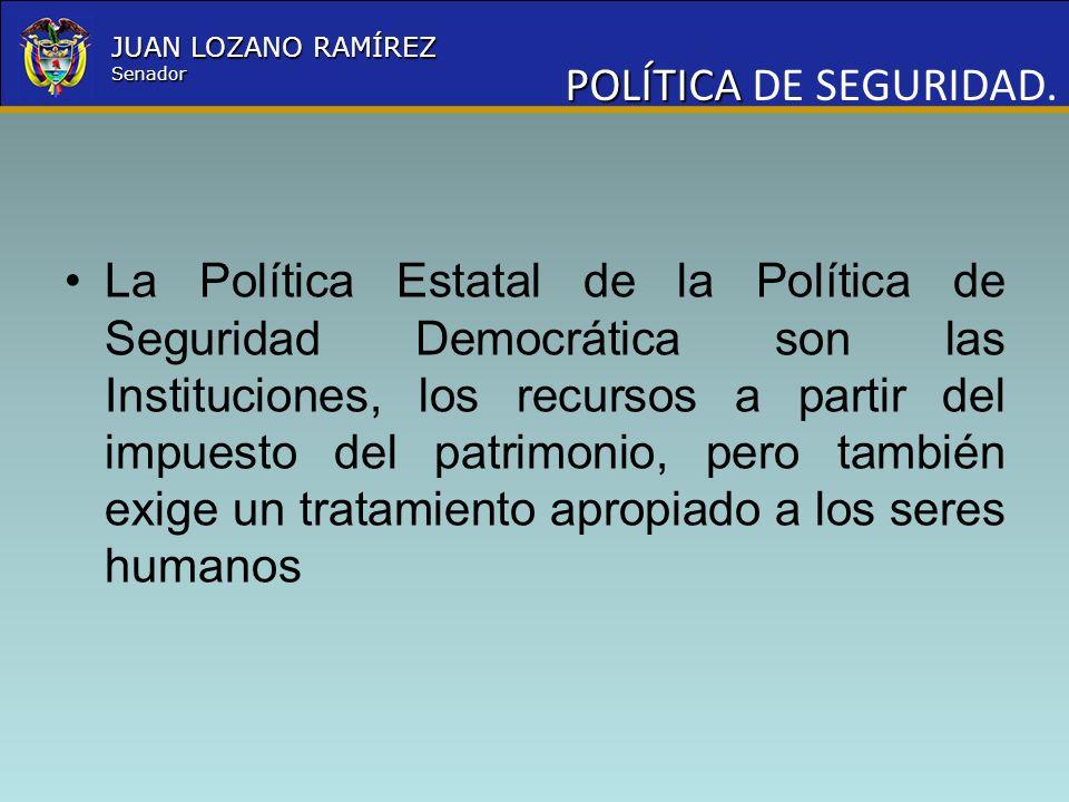 POLÍTICA DE SEGURIDAD.