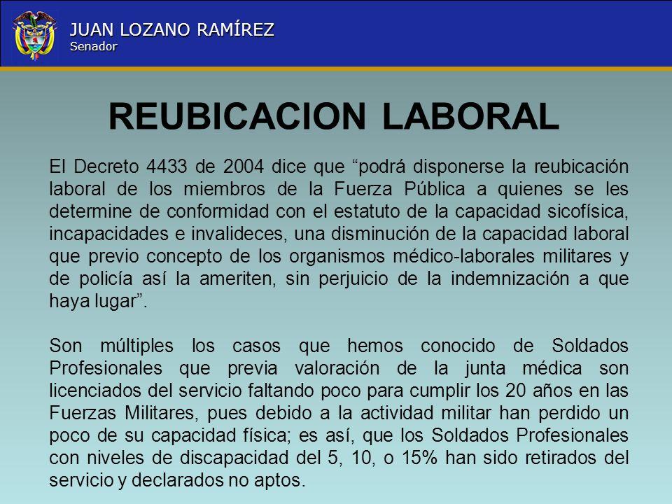 REUBICACION LABORAL