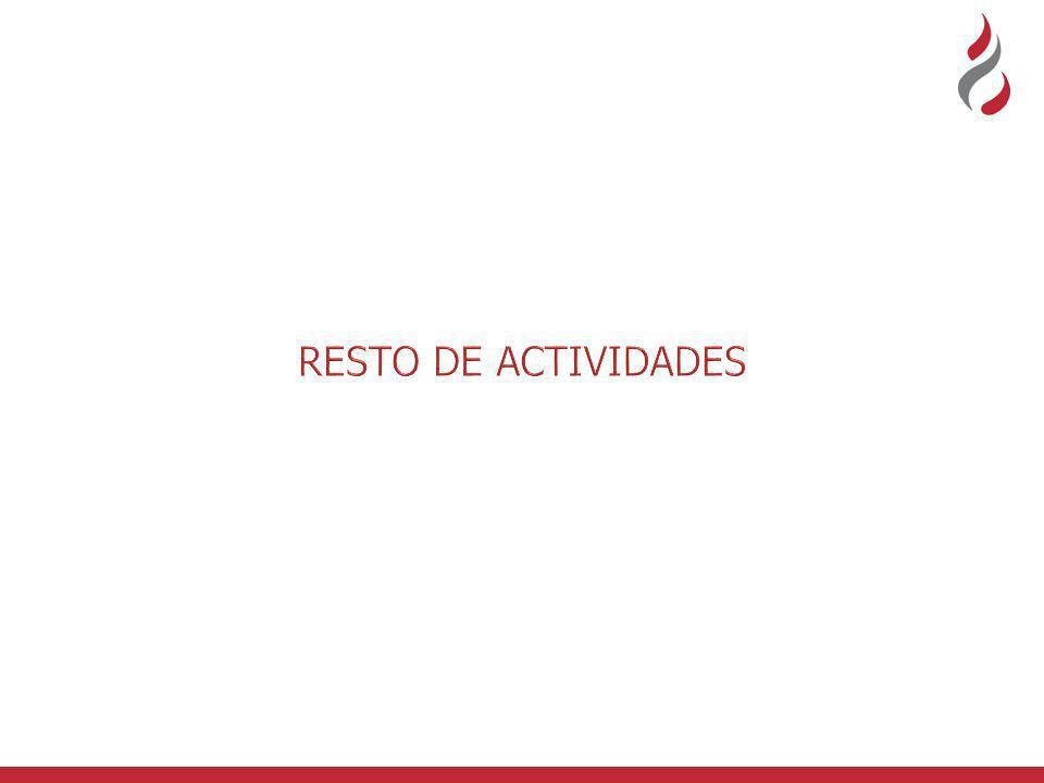 RESTO DE ACTIVIDADES