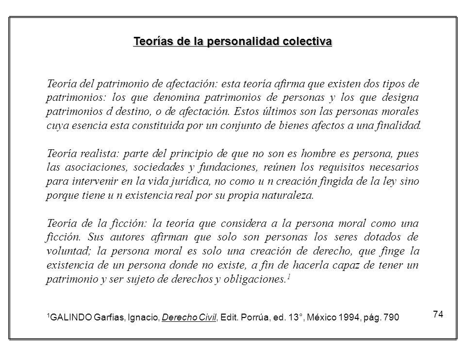 Teorías de la personalidad colectiva