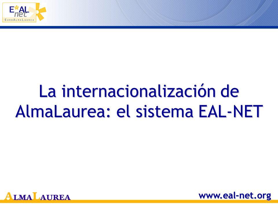La internacionalización de AlmaLaurea: el sistema EAL-NET