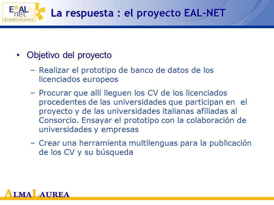 La respuesta : el proyecto EAL-NET