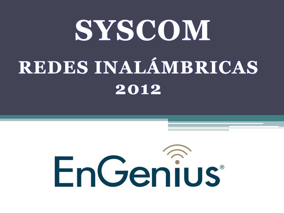 SYSCOM REDES INALÁMBRICAS 2012