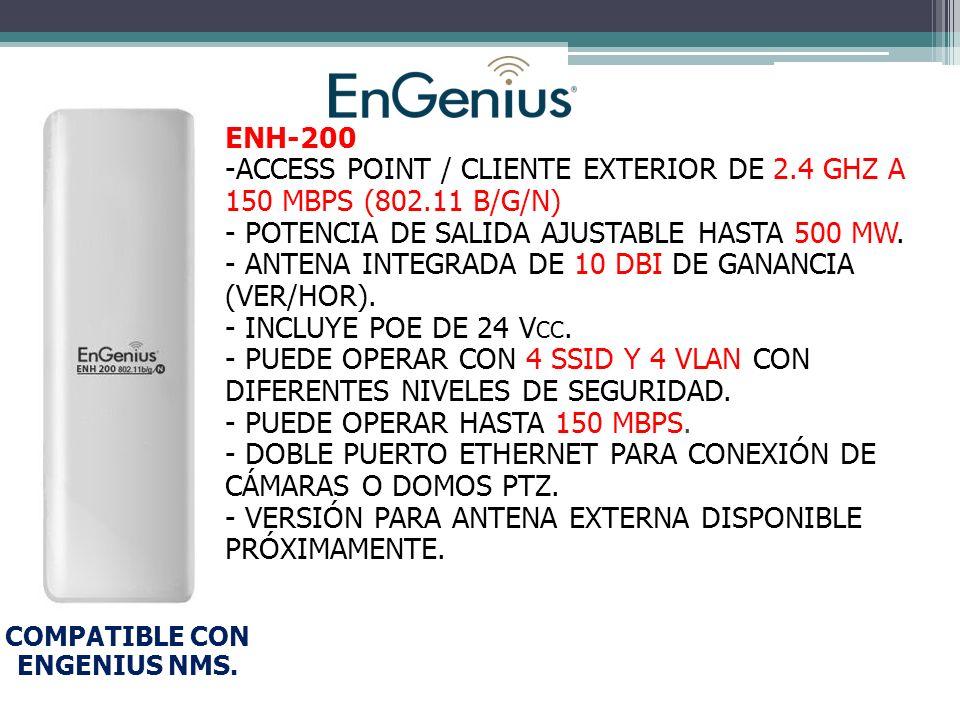 COMPATIBLE CON ENGENIUS NMS.