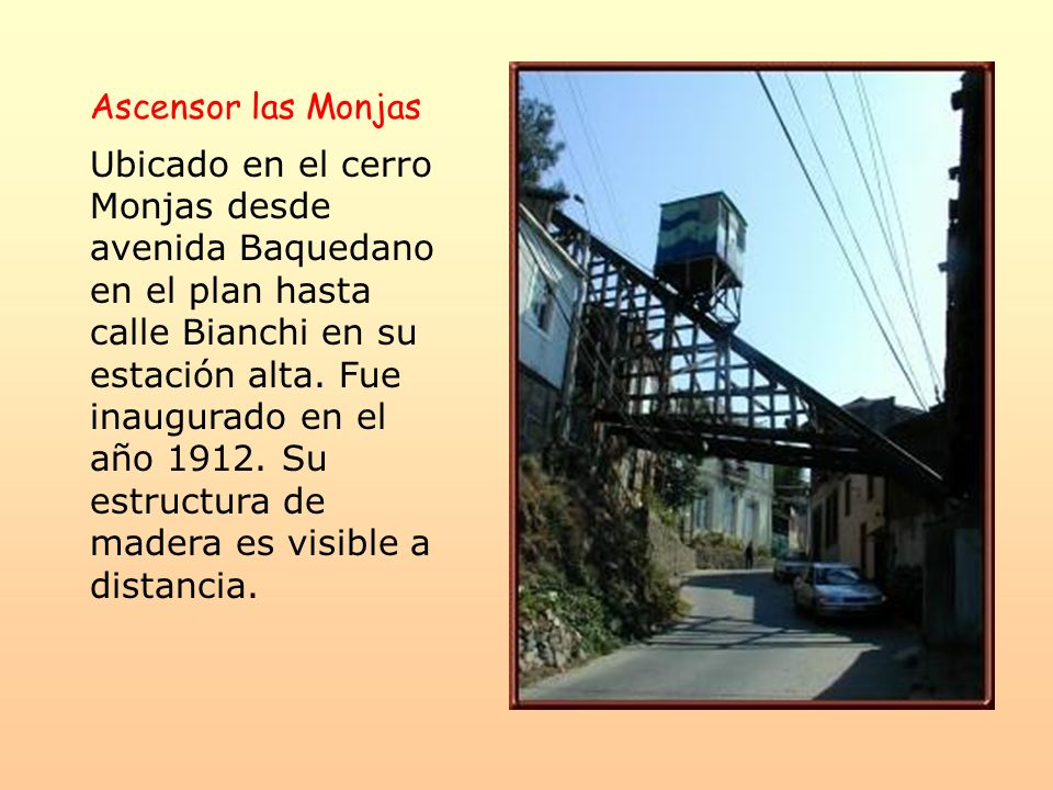 Ascensor las Monjas