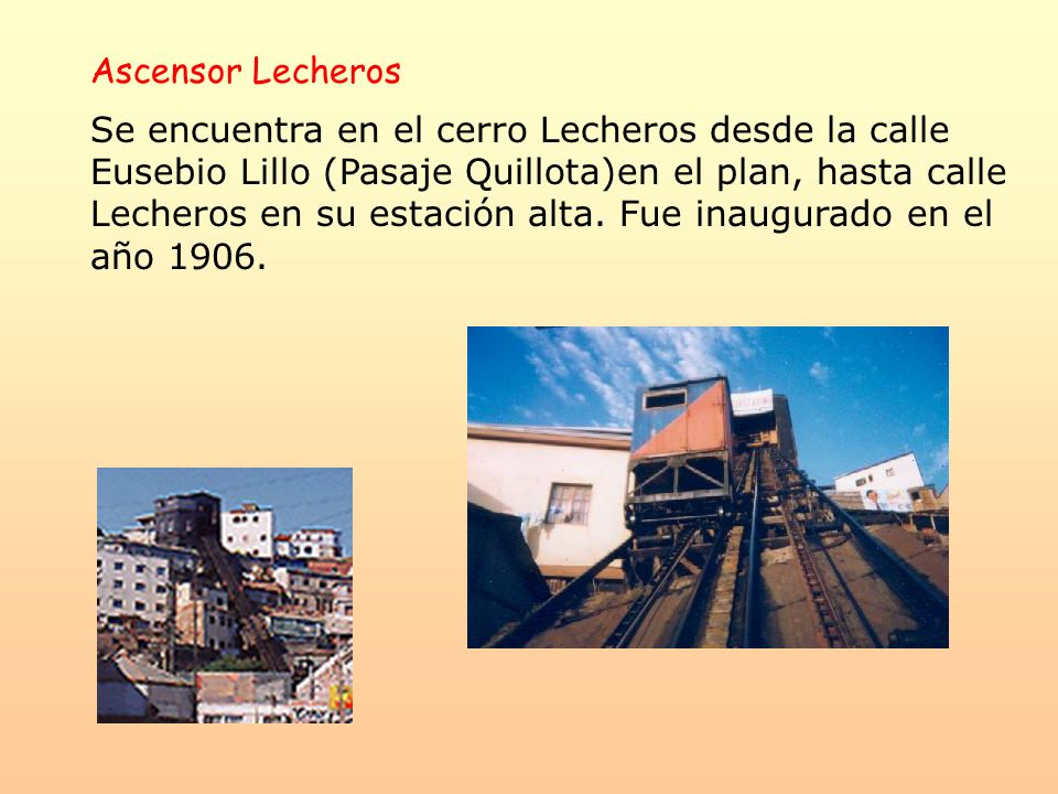 Ascensor Lecheros
