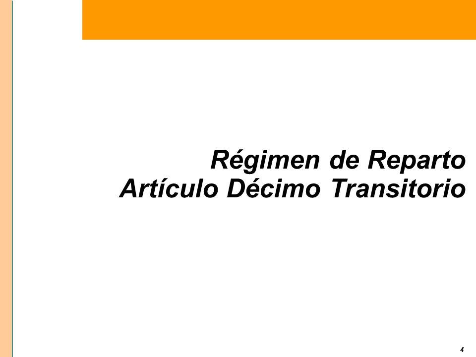 Artículo Décimo Transitorio