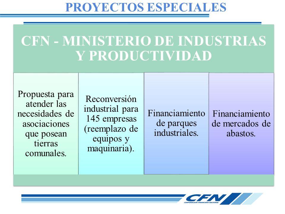 CFN - MINISTERIO DE INDUSTRIAS Y PRODUCTIVIDAD