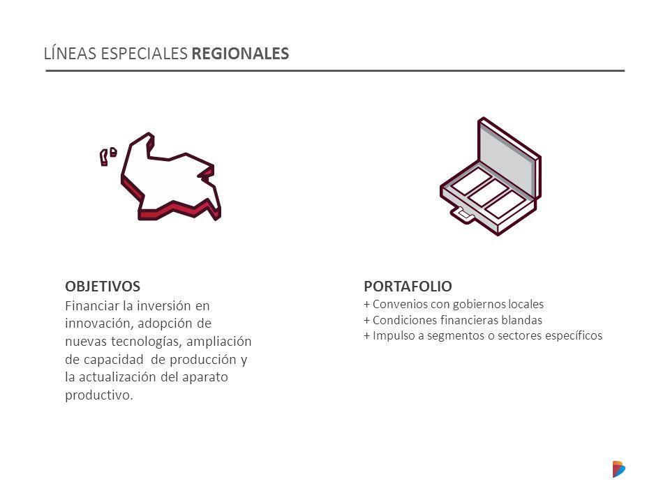 LÍNEAS ESPECIALES REGIONALES