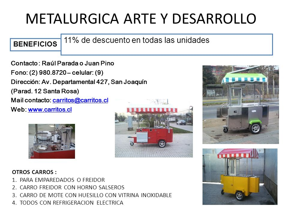 METALURGICA ARTE Y DESARROLLO