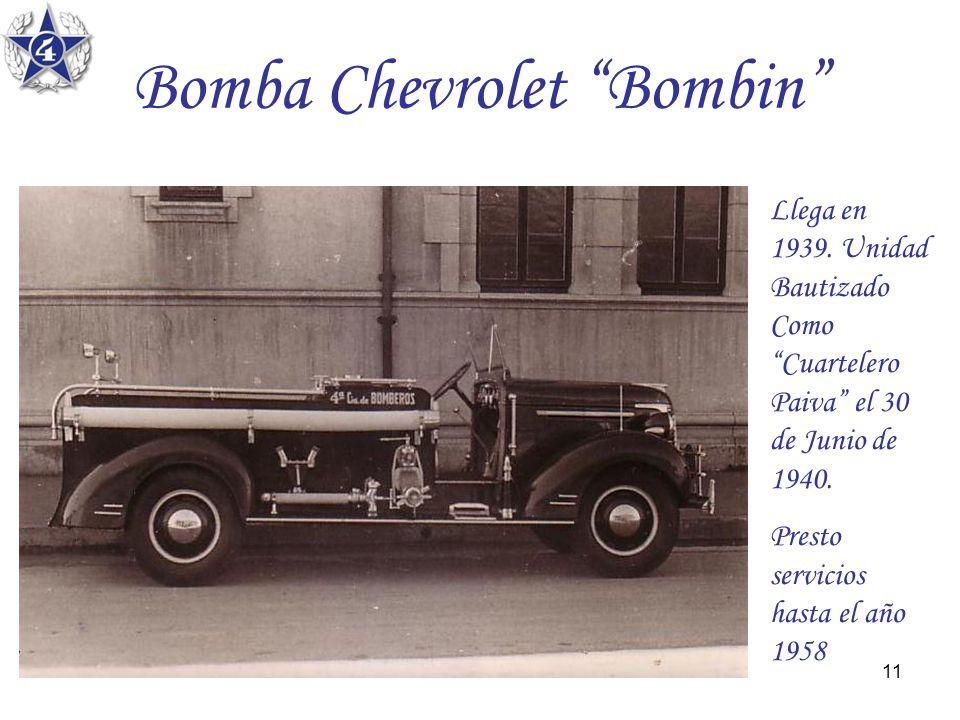 Bomba Chevrolet Bombin